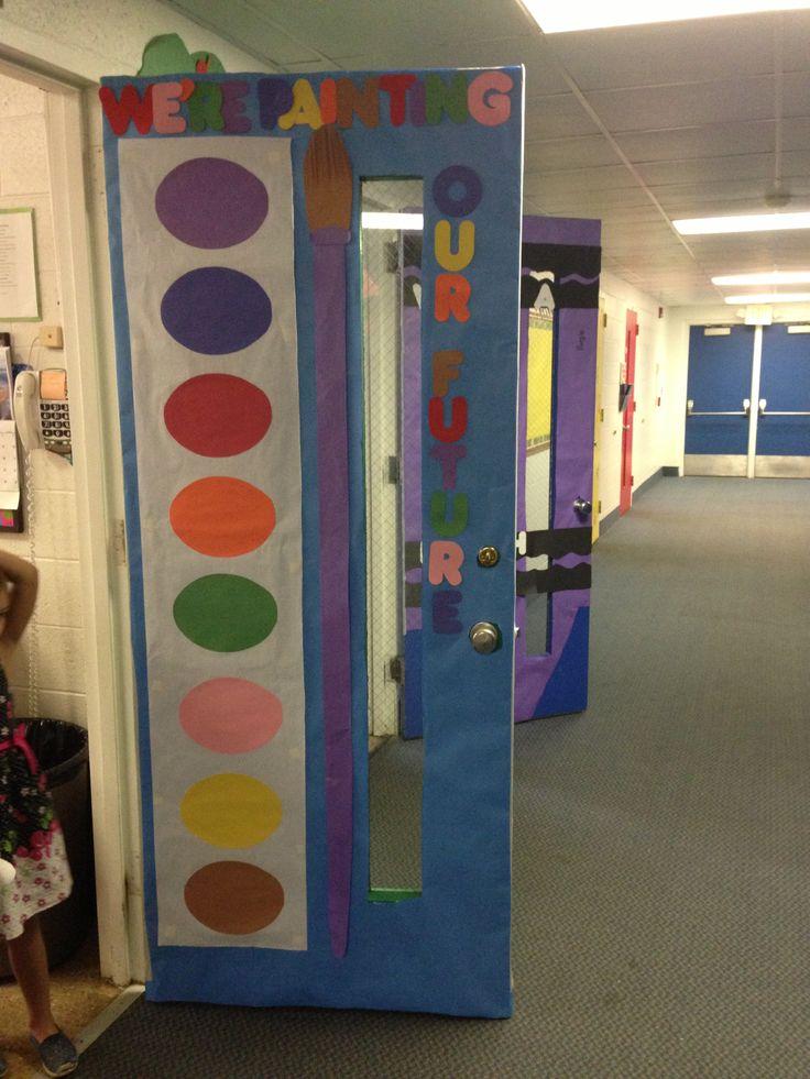 Class door 27 diy cool cork board ideas instalation for Idea door files