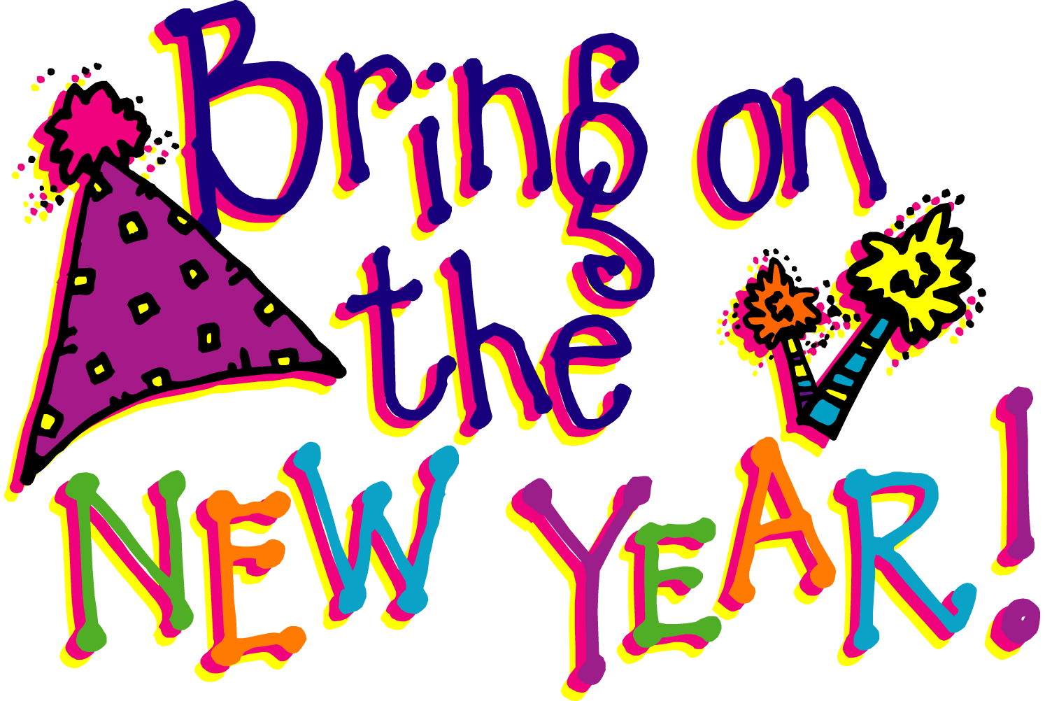 Image result for bring in the new year