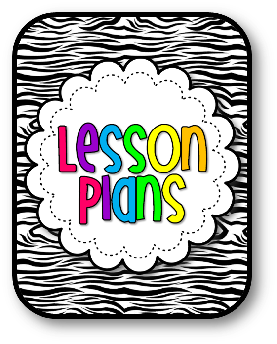 Lesson Plan Templates | Mrs. Sarah's Classroom Blog